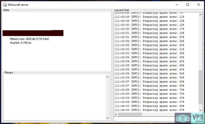 Panel de Minecraft Server de Windows